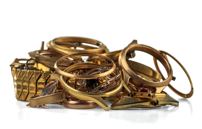 Sell scrap gold
